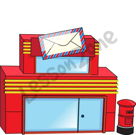 Post Office Clip Art, Post Office Free Clipart.