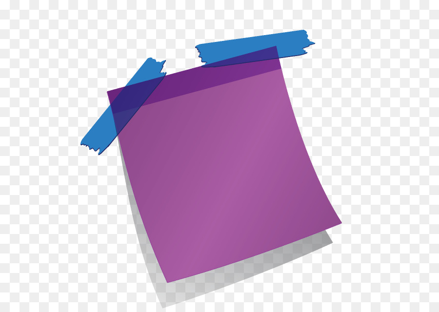 Download Free png Terni Post it note Animation Paper post.