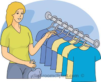 Clothing Rack Clip Art.