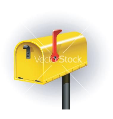 Post box vector by jara3000.
