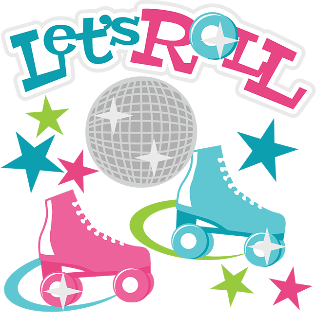 Awesome Roller Skate Clipart Picture.