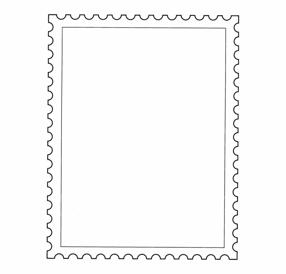 Postage Stamp Png Transparent Background.