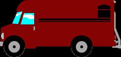 Delivery Van Clipart.