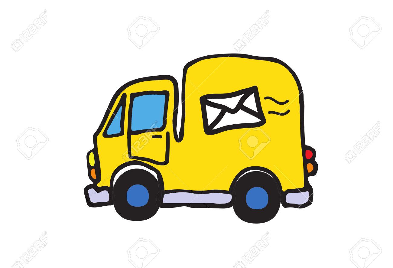 745 Postal Van Cliparts, Stock Vector And Royalty Free Postal Van.