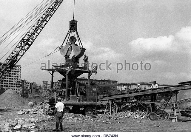 Post War Period Reconstruction Germany Stock Photos & Post War.