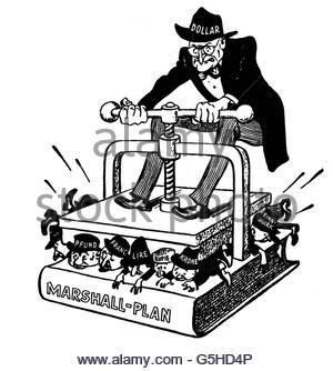 "Post War Period, Marshall Plan / Erp, Opening Of The ""europazug."