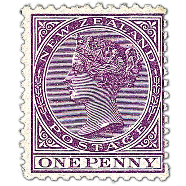 Postage Stamp PNG Image.