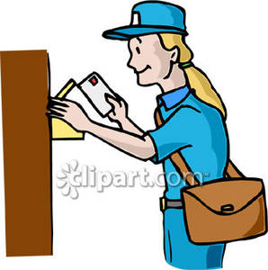 Postal clipart images.