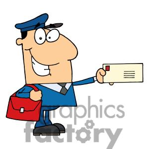 Postal service clipart.