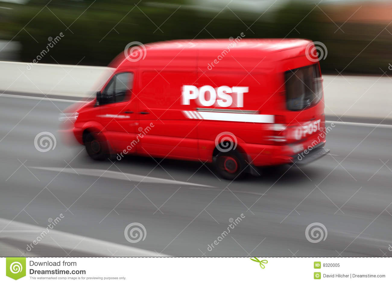 Post Office Van Stock Photos, Images, & Pictures.
