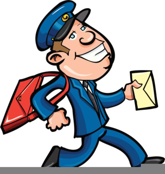 Clipart Postal Worker.