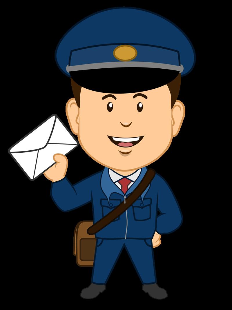 Mail clipart postal worker, Mail postal worker Transparent.