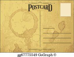 Postcard Clip Art.