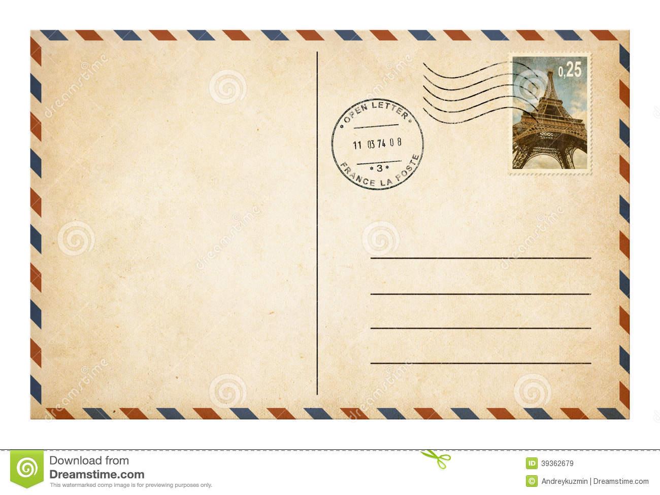 Clipart Postcard.