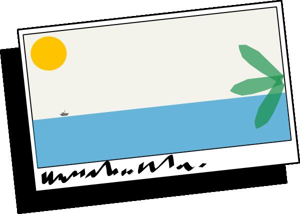 Tropical Postcard Clip Art at Clker.com.