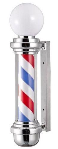 Poste Barbero con Esfera Luminosa.
