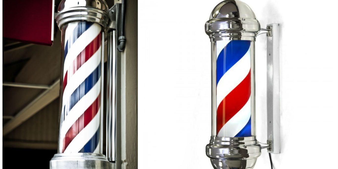 Postes de barbero.