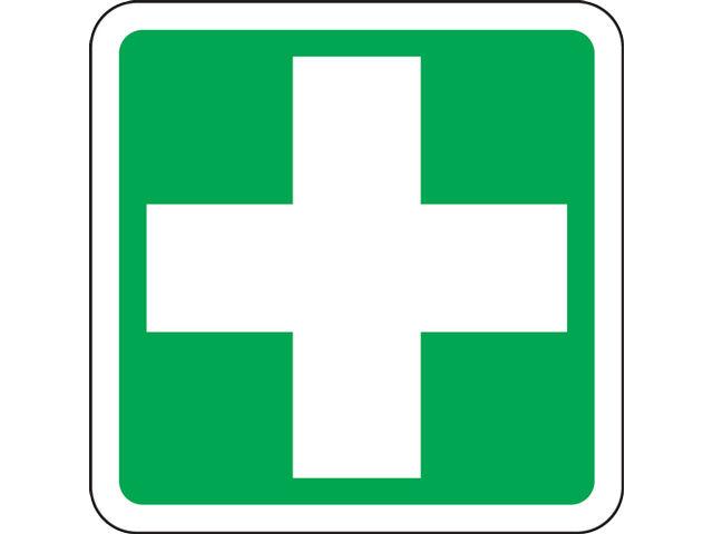 Panneau de signalisation poste de secours.