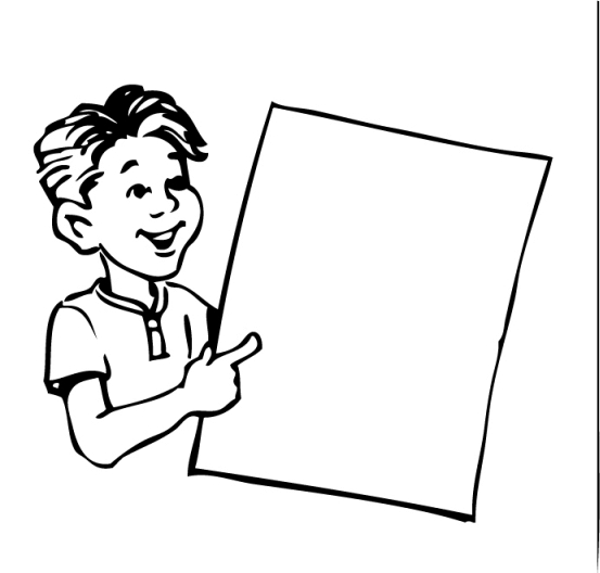 Posters clipart #5