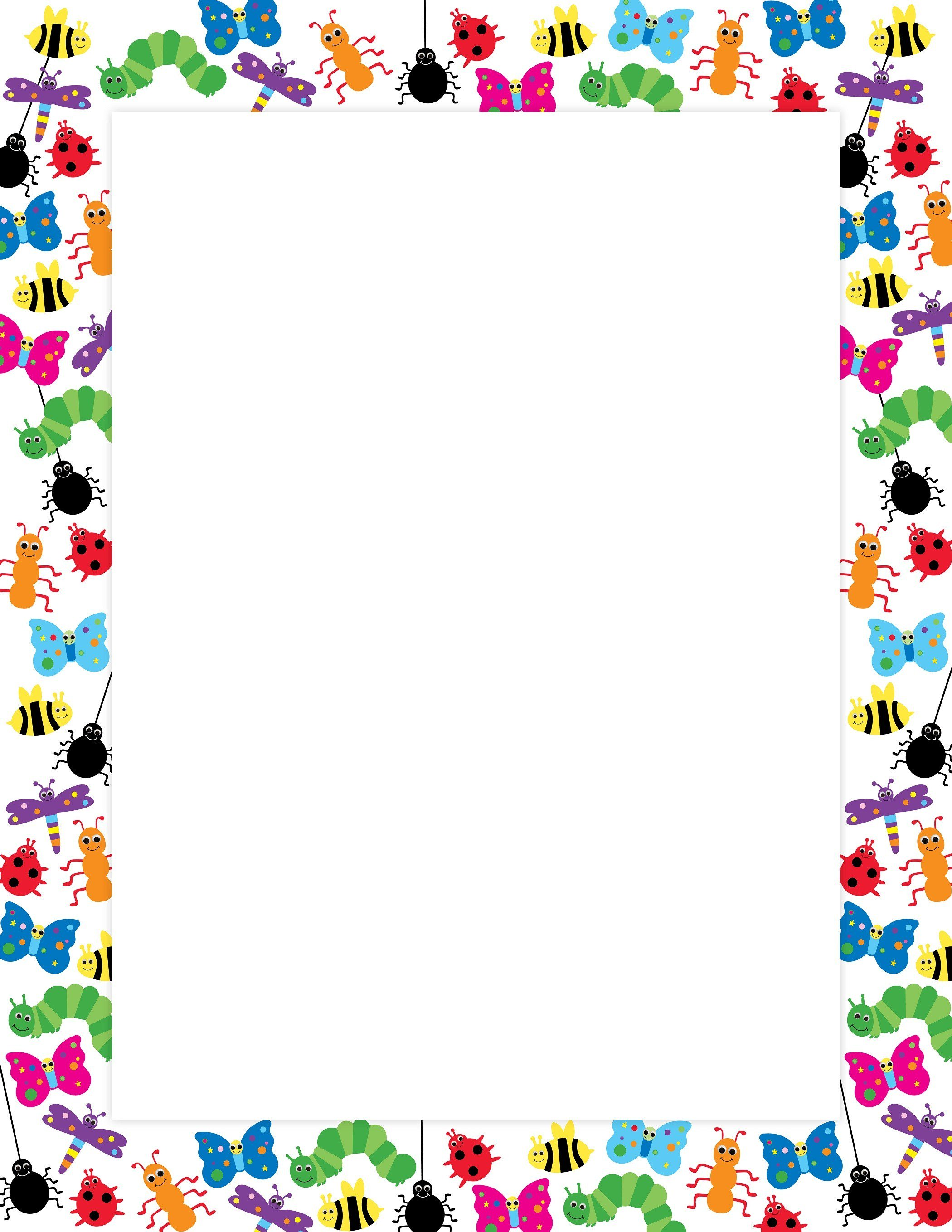 Bugs clipart border, Bugs border Transparent FREE for.