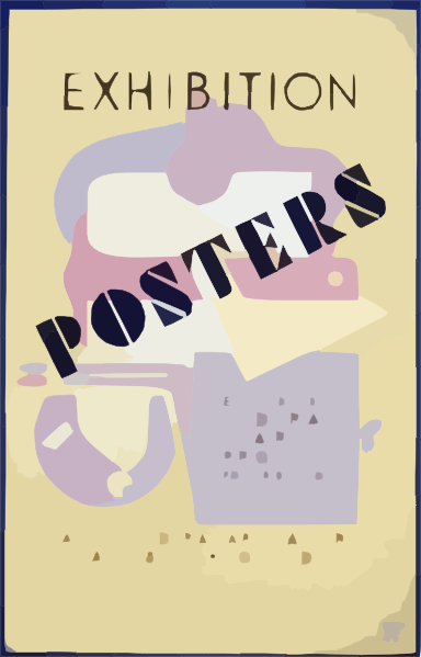 Posters clipart #8