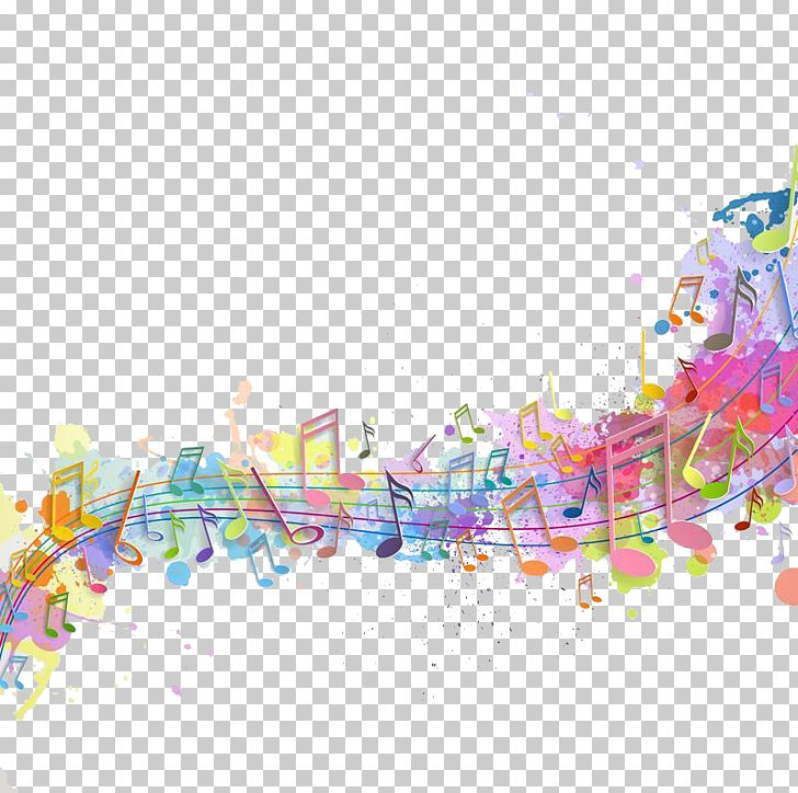 Wedding Invitation Concert Background Music Poster PNG.