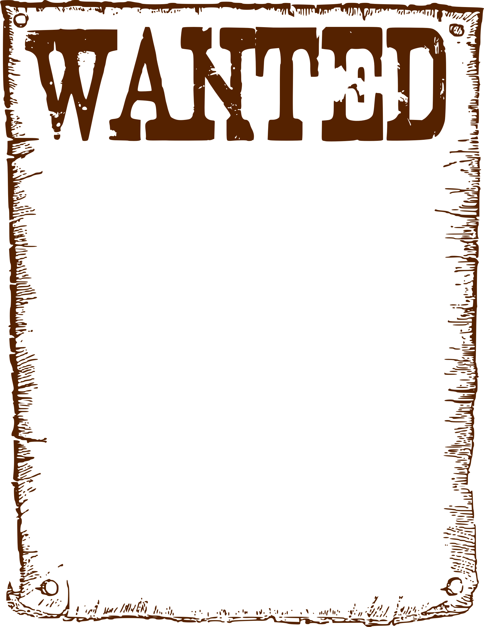 Wanted Poster Clipart Free Download Clip Art.
