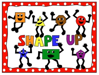 Free Math Shapes and Poster Clip Art Characters.