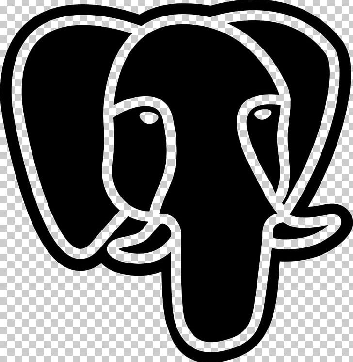 PostgreSQL Computer Icons Database PNG, Clipart, Black And.