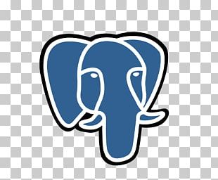 PostgreSQL Database Logo PNG, Clipart, Area, Blue, Brand.