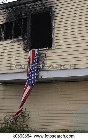 Stock Photo of New Orleans post hurricane Katrina k0563584.