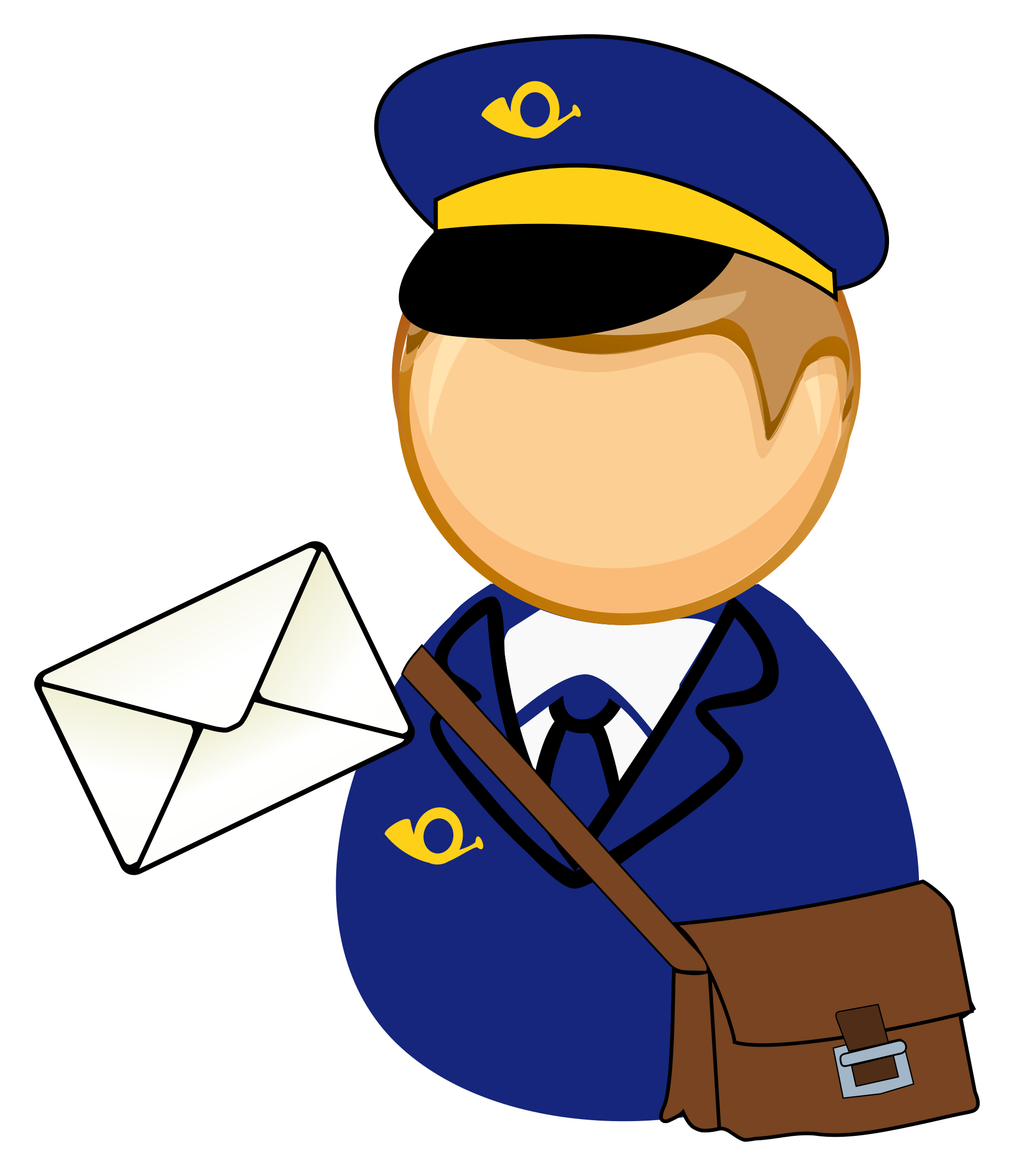 Postman clipart 2 » Clipart Station.