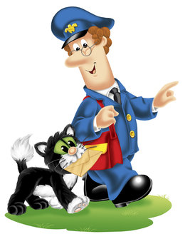 Download Postman Pat clipart Birthday Gift.