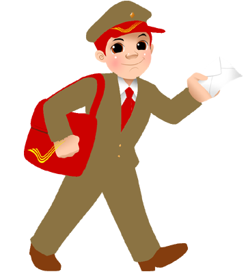 Download Free png pin India clipart postman #11.