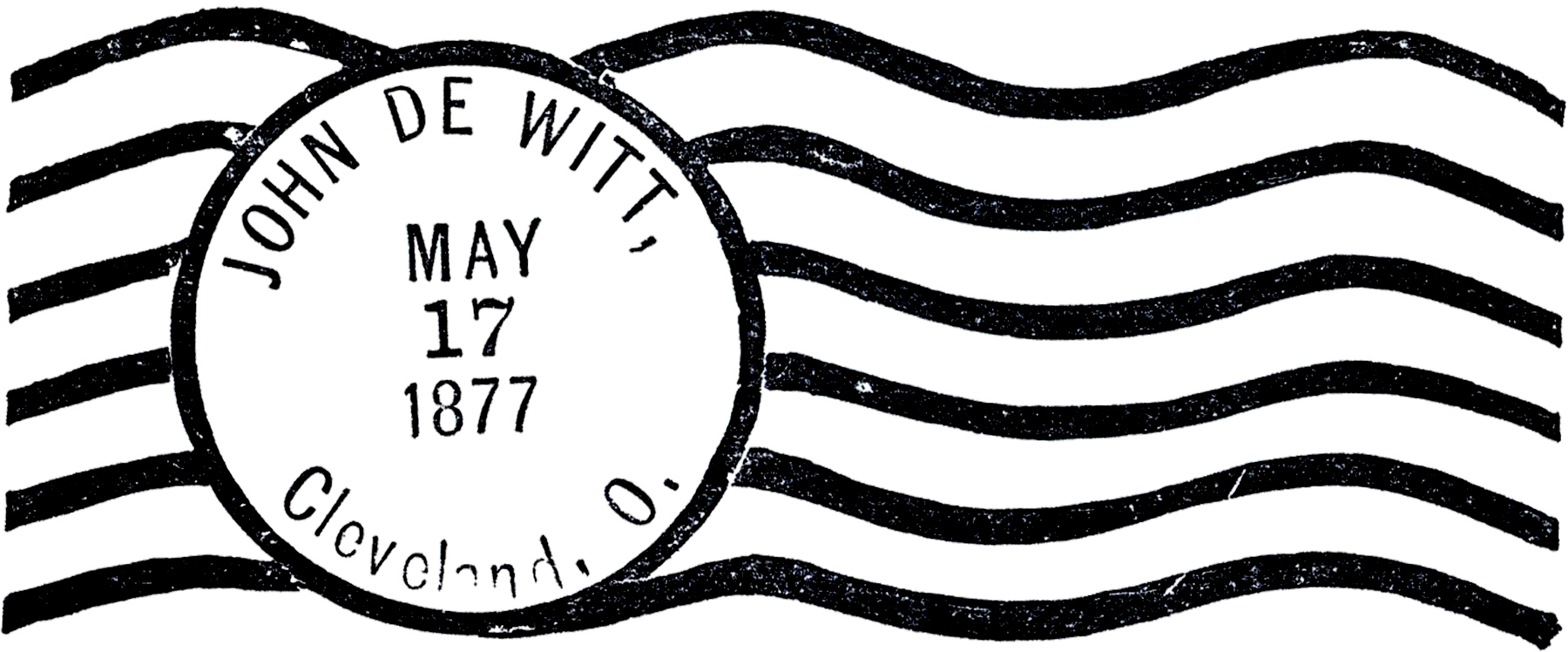 Postmark Clipart.