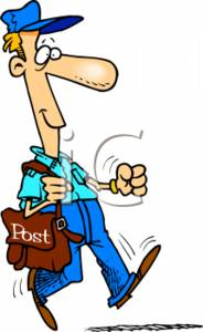 Postmaster Clipart.