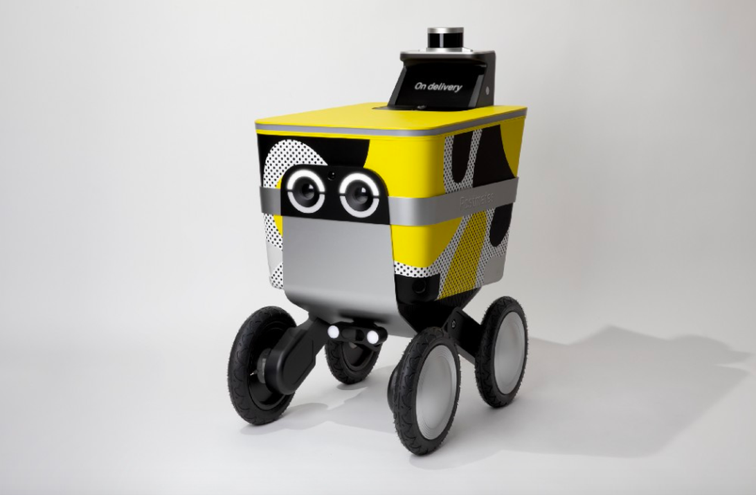 A robot might deliver your Postmates orders in the future.