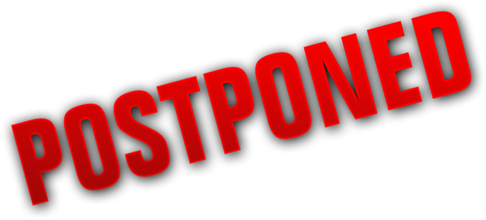 Postponed Png Vector, Clipart, PSD.