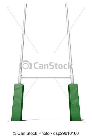 Rugby posts Clipart and Stock Illustrations. 949 Rugby posts.
