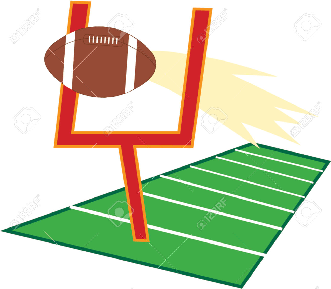 Goal post clipart - Clipground
