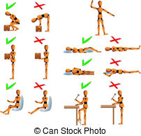 Posture Illustrations and Clipart. 13,244 Posture royalty free.