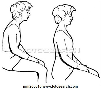 Good posture clipart free.