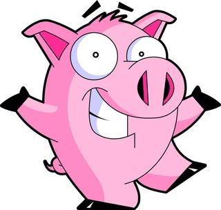 PIG COCHON CERDO.