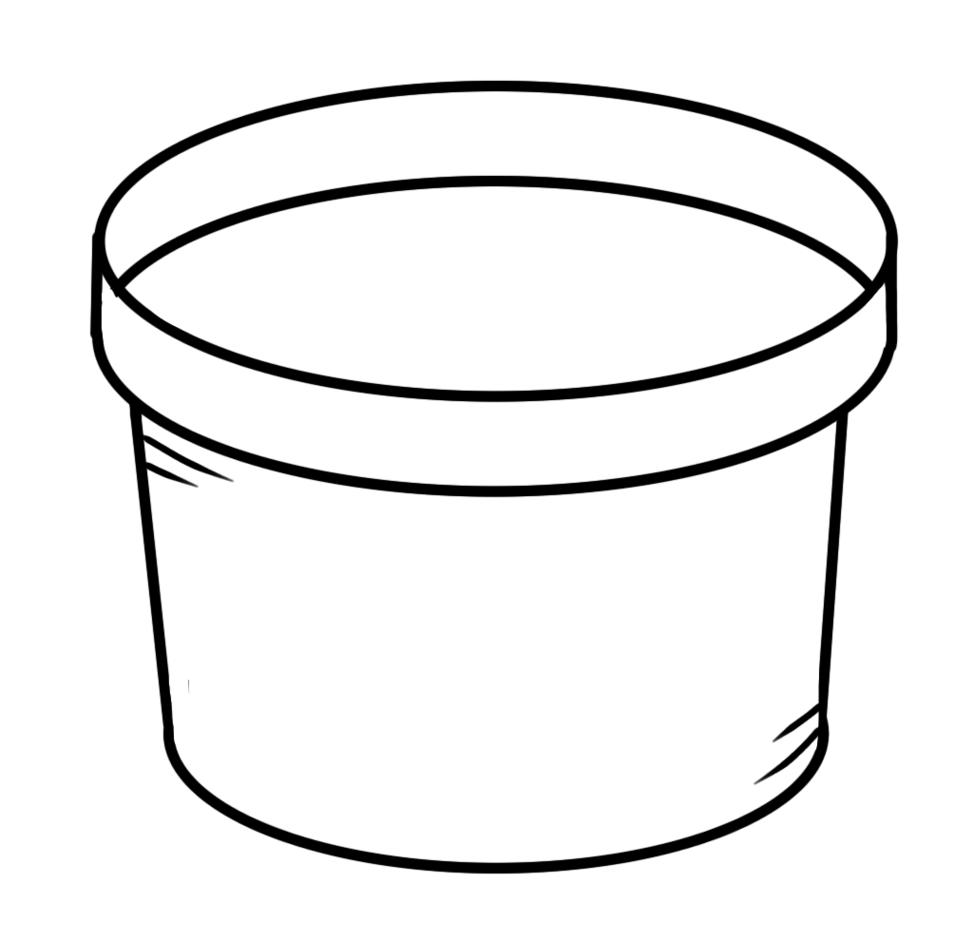 Flower pot clipart black and white free to use clip art.