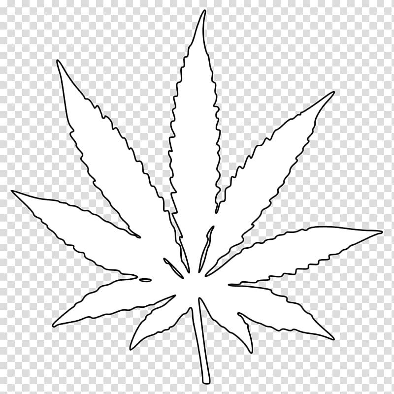 White cannabis leaf , Cannabis Leaf Drawing Coloring book.