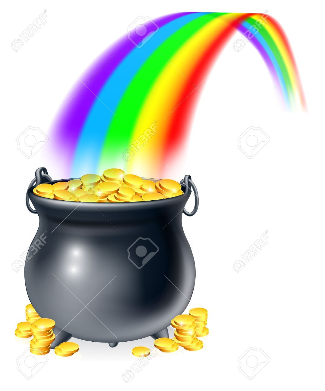 Pot o gold clipart 2 » Clipart Portal.