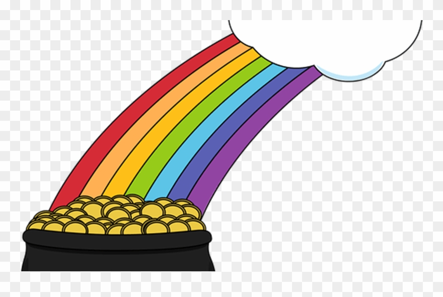 Free Rainbow And Pot Of Gold Clipart, Download Free.