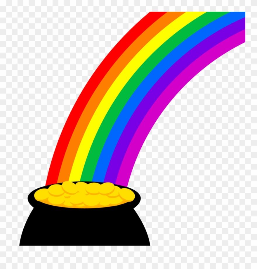 Download Pot Of Gold Clipart Gold Clip Art Rainbow.
