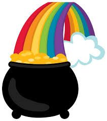 Image result for pot of gold clipart free.