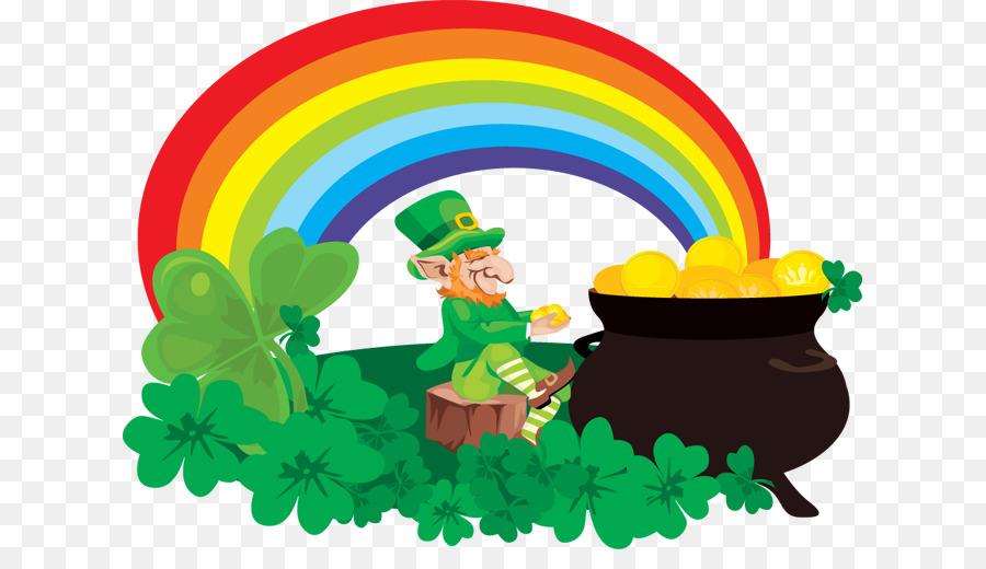 Saint Patricks Day Rainbow.